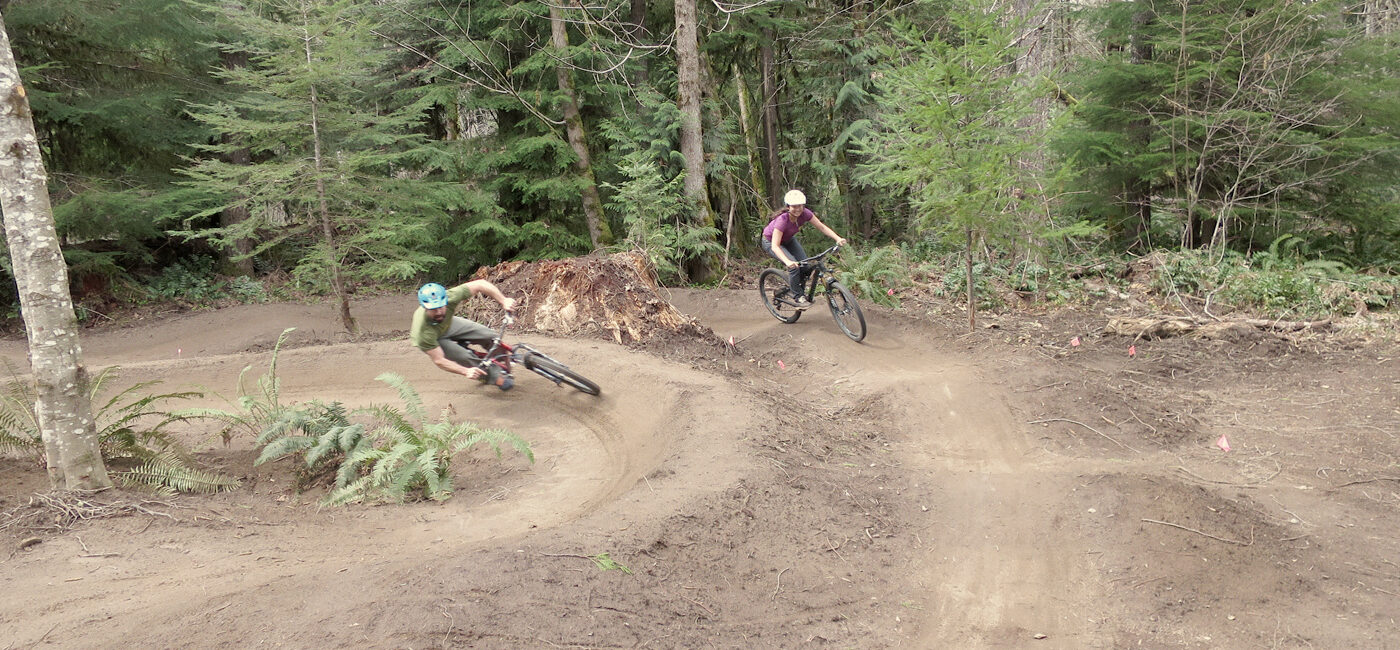 McKenzie River Trail pump track
