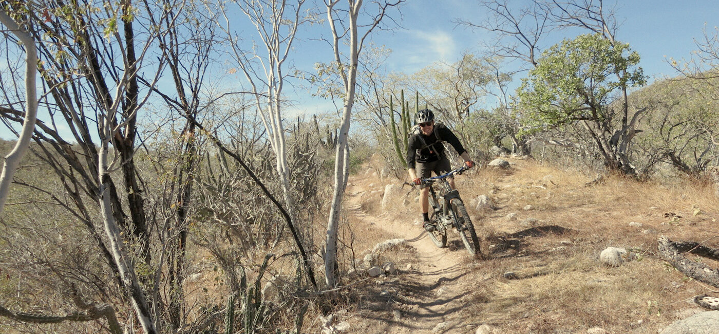 Mexico mountain bike tours, Baja