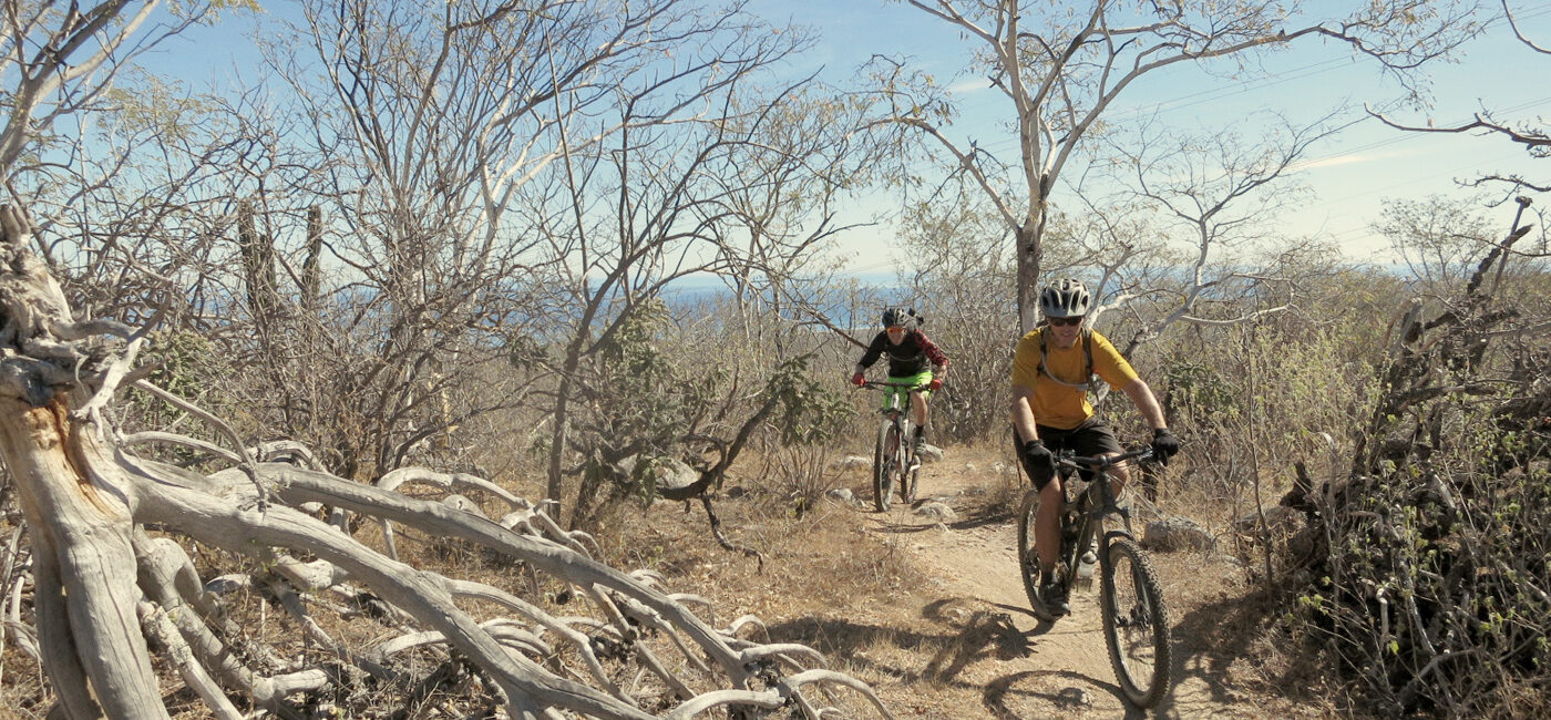 Mexico singletrack tours, Baja